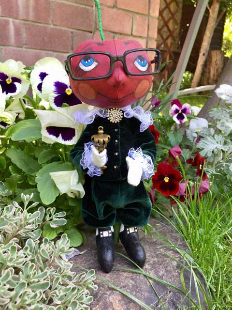 коллекционная кукла Вишенка