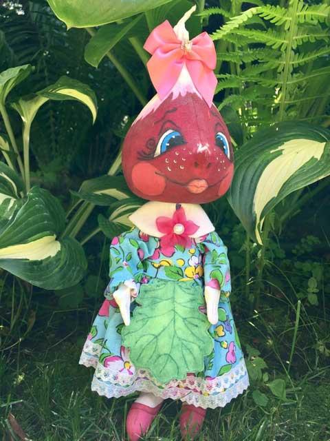 коллекционная кукла Редиска