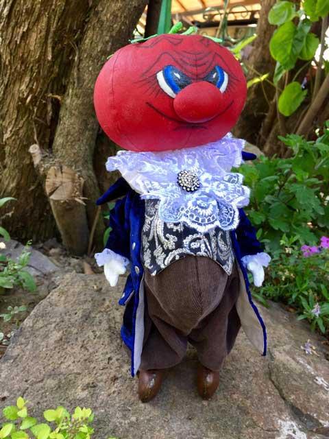 коллекционная кукла синьор Помидор